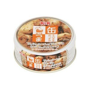缶つま マッシュルームのアヒージョ 40g|morimoto