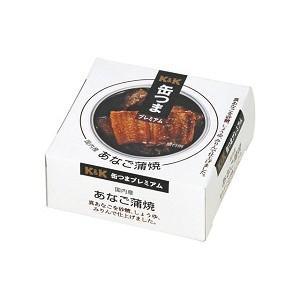 K&K缶つまプレミアム 国内産 あなご蒲焼 80g|morimoto