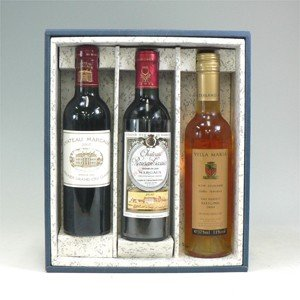 ギフト用ハーフワイン3本用Box(布なし) morimoto