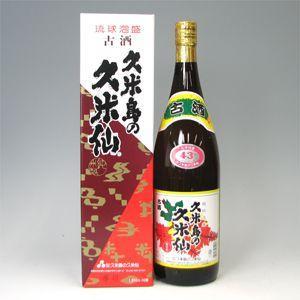 久米島の久米仙 でいご 古酒  43゜ 1.8L|morimoto