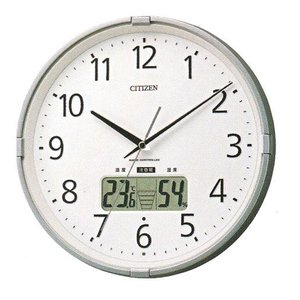 電波掛時計 シチズン CITIZEN 壁掛け時計 4FY621-019 インフォームナビ 文字入れ対応、有料|morimototokeiten