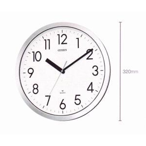壁掛け時計 シチズン 掛時計 4MG522-050 電波時計ではないです 文字入れ対応、有料 取り寄せ品|morimototokeiten