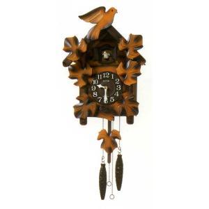 鳩時計 リズム RHYTHM 壁掛け時計 カッコーメイソンR 4MJ234RH06 文字入れ対応、有料 取り寄せ品|morimototokeiten