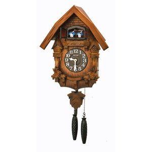 はとトケイ ハト時計 壁掛け時計 カッコーテレス リズム時計 RHYTHM 掛時計 4MJ236RH06 文字名入れ不可 取り寄せ品|morimototokeiten