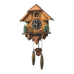 はとトケイ ハト時計 壁掛け時計 カッコーティンバー リズム時計 RHYTHM 掛時計 4MJ423SR06 文字名入れ不可 取り寄せ品|morimototokeiten