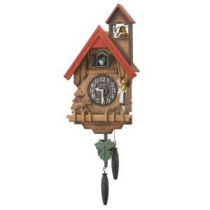 鳩時計 リズム RHYTHM 壁掛け時計 カッコーチロリアンR 4MJ732RH06 文字入れ対応、有料 取り寄せ品|morimototokeiten