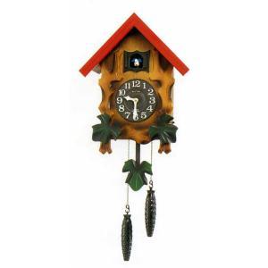 鳩時計 リズム RHYTHM 壁掛け時計 カッコーメルビルR 4MJ775RH06 文字入れ対応、有料|morimototokeiten