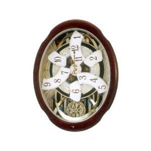 からくり時計 スモールワールドブルーム電波掛け時計4MN499RH23 開院 開業 結婚 新築祝の贈り物 にかけ時計  取り寄せ品|morimototokeiten