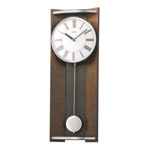 柱時計 振り子付時計 壁掛け時計 4MPA05RH06 リズム RHYTHM 文字書き不可 取り寄せ品|morimototokeiten