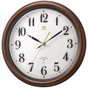 壁掛け時計 電波時計 スリーウェイブ 8MY850HG06 掛時計 リズム時計 文字入れ対応、有料 取り寄せ品|morimototokeiten