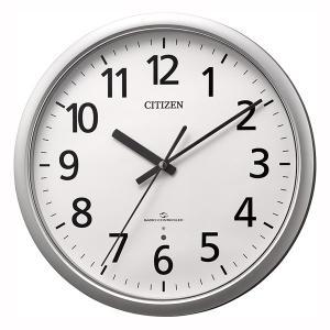 壁掛け時計 電波時計 スリーウェイブ 4MY853-019 掛時計 シチズン 文字入れ対応、有料 取り寄せ品|morimototokeiten