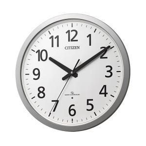 壁掛け時計 電波時計 スリーウェイブ 4MY855-019 掛時計 シチズン 文字入れ対応、有料 取り寄せ品|morimototokeiten