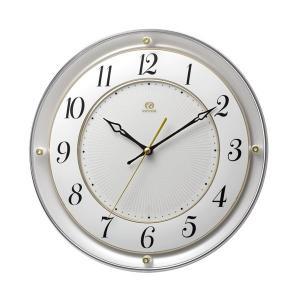 壁掛け時計 電波時計 RHG-M111 リズム RHYTHM 掛時計 4MY858HG03 文字入れ名入れ対応、有料 取り寄せ品|morimototokeiten