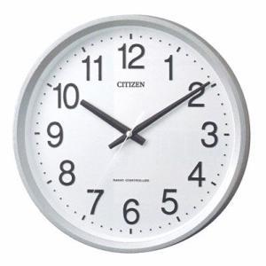 シチズン 電波時計 CITIZEN シンプル 壁掛け時計 サークルポート 4MYA24-019  ガラス面へ文字入れ対応、有料 ZAIKO morimototokeiten