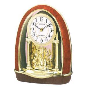 置き時計 シチズン 電波時計 CITIZEN メロディ置時計 パルドリーム 4RN414-023 贈り物に文字入れ対応、有料 取り寄せ品|morimototokeiten