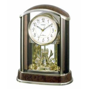 置き時計 シチズン CITIZEN 電波時計 パルアモール R658N 4RY658-N23 文字入れ対応、有料 取り寄せ品|morimototokeiten