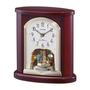 シチズン 置き時計 CITIZEN 電波時計 4RY681-N06 電波置時計 文字入れ対応、有料 取り寄せ品|morimototokeiten