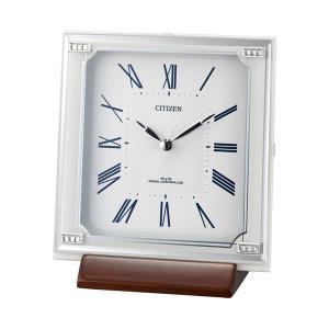 置き時計 シチズン CITIZEN 電波時計 4RY712-003 文字入れ対応、有料 取り寄せ品|morimototokeiten