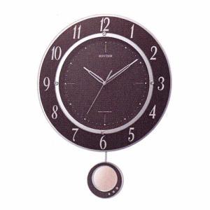 振り子付時計 壁掛け時計 電波時計 8MX403SR23 リズム RHYTHM 文字書き対応、有料 取り寄せ品|morimototokeiten