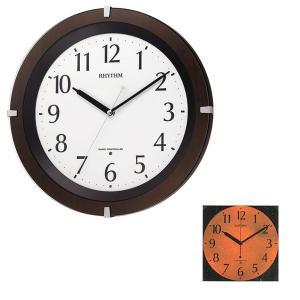 壁掛け時計 暗くなると文字板が光る 電波時計 8MY460SR06 文字入れ対応、有料 取り寄せ品|morimototokeiten