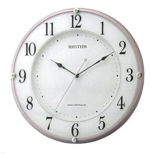壁掛け時計 電波時計 8MY503SR13 連続秒針 スイープ ガラスへ文字入れ対応、有料 取り寄せ品 morimototokeiten
