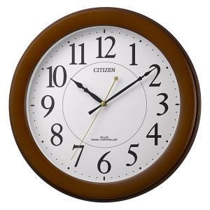 壁掛け時計 電波時計 8MY514-006 連続秒針 スイープ CITIZEN シチズン 文字入れ対応、有料 取り寄せ品|morimototokeiten