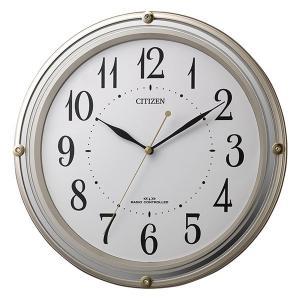 壁掛け時計 電波時計 8MY516-018 連続秒針 スイープ CITIZEN シチズン ガラス面のみ文字入れ対応、有料 ZAIKO morimototokeiten