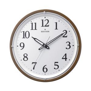 壁掛け時計 暗くなると文字板が光る 電波時計 8MY532SR06 文字入れ対応、有料 取り寄せ品|morimototokeiten