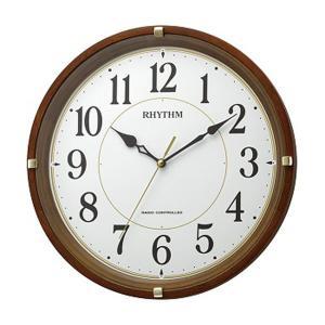 壁掛け時計 電波時計 8MYA32SR06 連続秒針 スイープ 文字入れ対応、有料 ZAIKO|morimototokeiten