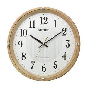 壁掛け時計 電波時計 8MYA32SR07 連続秒針 スイープ 文字入れ対応、有料 取り寄せ品 morimototokeiten