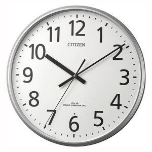 壁掛け時計シチズン電波時計 8MYA39-019 暗くなると秒針を止め 音がしない 文字入れ 名入れ 対応、有料 取り寄せ品|morimototokeiten