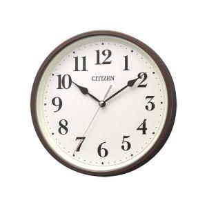 壁掛け時計 電波時計 8MYA42-006 連続秒針 スイープ CITIZEN シチズン 置掛兼用 文字入れ対応、有料|morimototokeiten