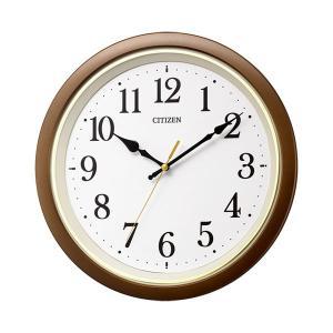 壁掛け時計 電波時計 8MYA43-006 連続秒針 スイープ CITIZEN シチズン 文字入れ対応、有料 取り寄せ品|morimototokeiten