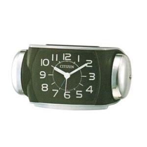 大きな音 ベル音 目覚時計 シチズン ライト付 CITIZEN 8RA636-002 目覚まし時計 バトルパワー 文字入れ対応、有料 取り寄せ品|morimototokeiten
