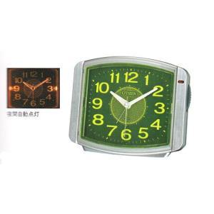 電子音 目覚時計 シチズン ライト付 CITIZEN 8RE644-019  目覚まし時計 サイレントミグ 文字入れ対応、有料 取り寄せ品|morimototokeiten