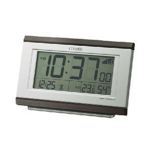 電子音 シチズン 電波時計 ライト付 CITIZEN デジタル 目覚まし時計 8RZ161-006 文字 名入れ対応、有料 取り寄せ品|morimototokeiten