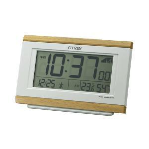 電子音 シチズン 電波時計 ライト付 CITIZEN デジタル 目覚まし時計 8RZ161-007 文字 名入れ対応、有料 取り寄せ品|morimototokeiten