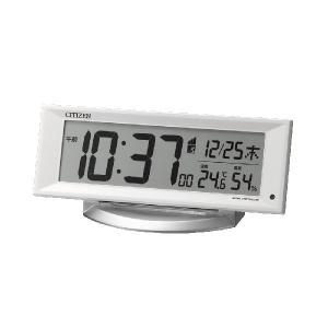 電子音 シチズン 電波時計 ライト付 CITIZEN デジタル 目覚まし時計 8RZ202-003 文字 名入れ対応、有料 取り寄せ品|morimototokeiten