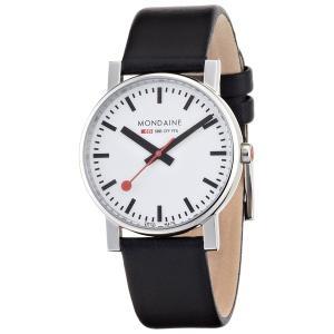 Mondaine Evo 腕時計 モンディーン エヴォ A658.30300.11SBB 革バンド 取り寄せ品 morimototokeiten