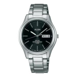 ALBA アルバ AEFD540 ソーラー メンズ 腕時計 男性用 名入れ刻印対応、有料 取り寄せ品|morimototokeiten