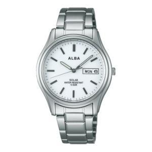ALBA アルバ AEFD541 ソーラー メンズ 腕時計 男性用 名入れ刻印対応、有料 取り寄せ品|morimototokeiten