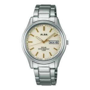ALBA アルバ AEFD542 ソーラー メンズ 腕時計 男性用 名入れ刻印対応、有料 ZAIKO|morimototokeiten