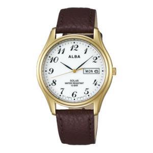ALBA アルバ AEFD544 ソーラー メンズ 腕時計 男性用 名入れ刻印対応、有料 ZAIKO|morimototokeiten