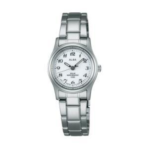 ALBA アルバ AEGD539 ソーラー 女性用 腕時計 名入れ刻印対応、有料 取り寄せ品|morimototokeiten