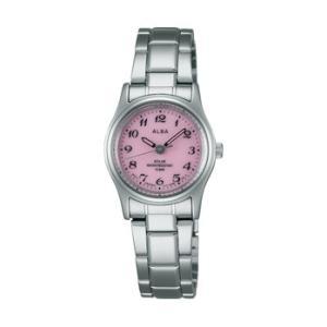 ALBA アルバ AEGD540 ソーラー 女性用 腕時計 名入れ刻印対応、有料 取り寄せ品|morimototokeiten