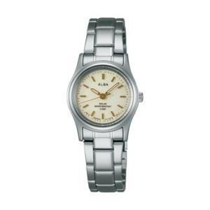 ALBA アルバ AEGD542 ソーラー 女性用 腕時計 名入れ刻印対応、有料 取り寄せ品|morimototokeiten