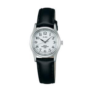 ALBA アルバ AEGD543 ソーラー 女性用 腕時計 名入れ刻印対応、有料 取り寄せ品|morimototokeiten