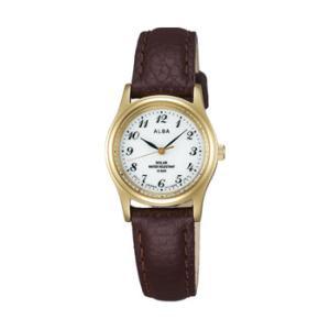 ALBA アルバ AEGD544 ソーラー 女性用 腕時計 名入れ刻印対応、有料 取り寄せ品|morimototokeiten
