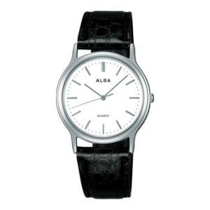 ALBA アルバ 男性用腕時計 AIGN005 アルバウオッチ 名入れ刻印対応、有料 取り寄せ品|morimototokeiten