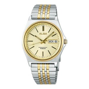ALBA アルバ  男性用腕時計 AIGT001 ルミブライト付 メンズウオッチ 名入れ刻印対応、有料 取り寄せ品|morimototokeiten
